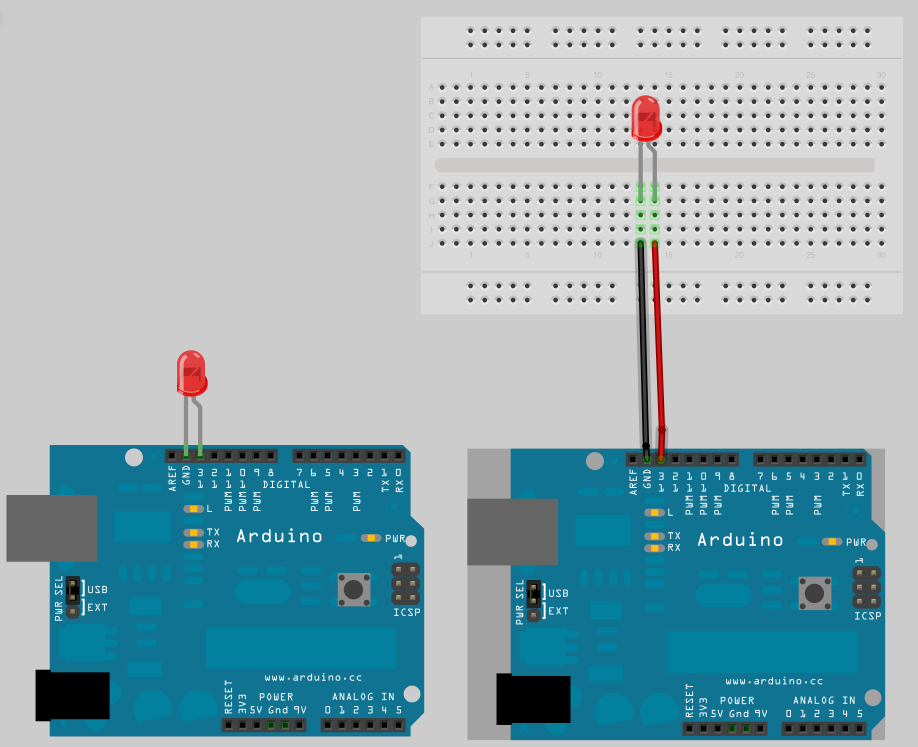 Tutorial guida su come far lampeggiare un led con arduino