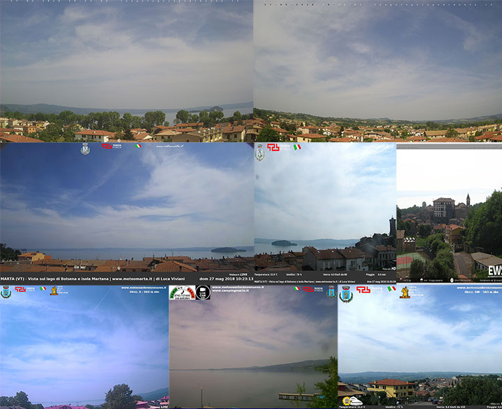 Webcam Lago di Bolsena